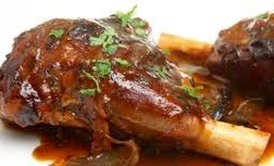 Slow Roasted Lamb Shanks