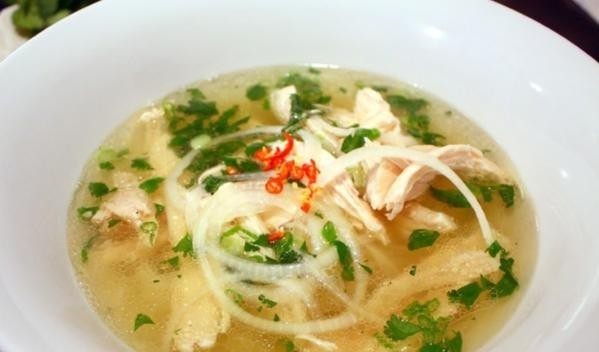 Healthy yummy chicken pho soup - Plant based whole food