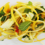 Mango Apple and Courgette Salad