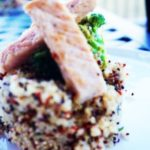 Healthy Middle Eastern Pork with Apple and Mint Quinoa