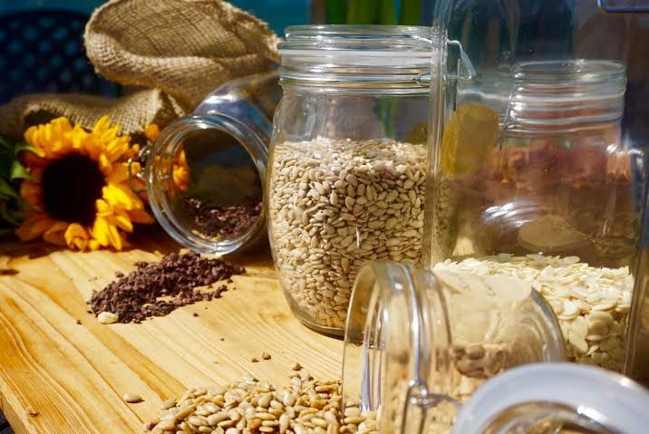 Seeds, nuts and superfoods - Healthy blog