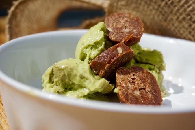 Banana & Avocado Ice Cream