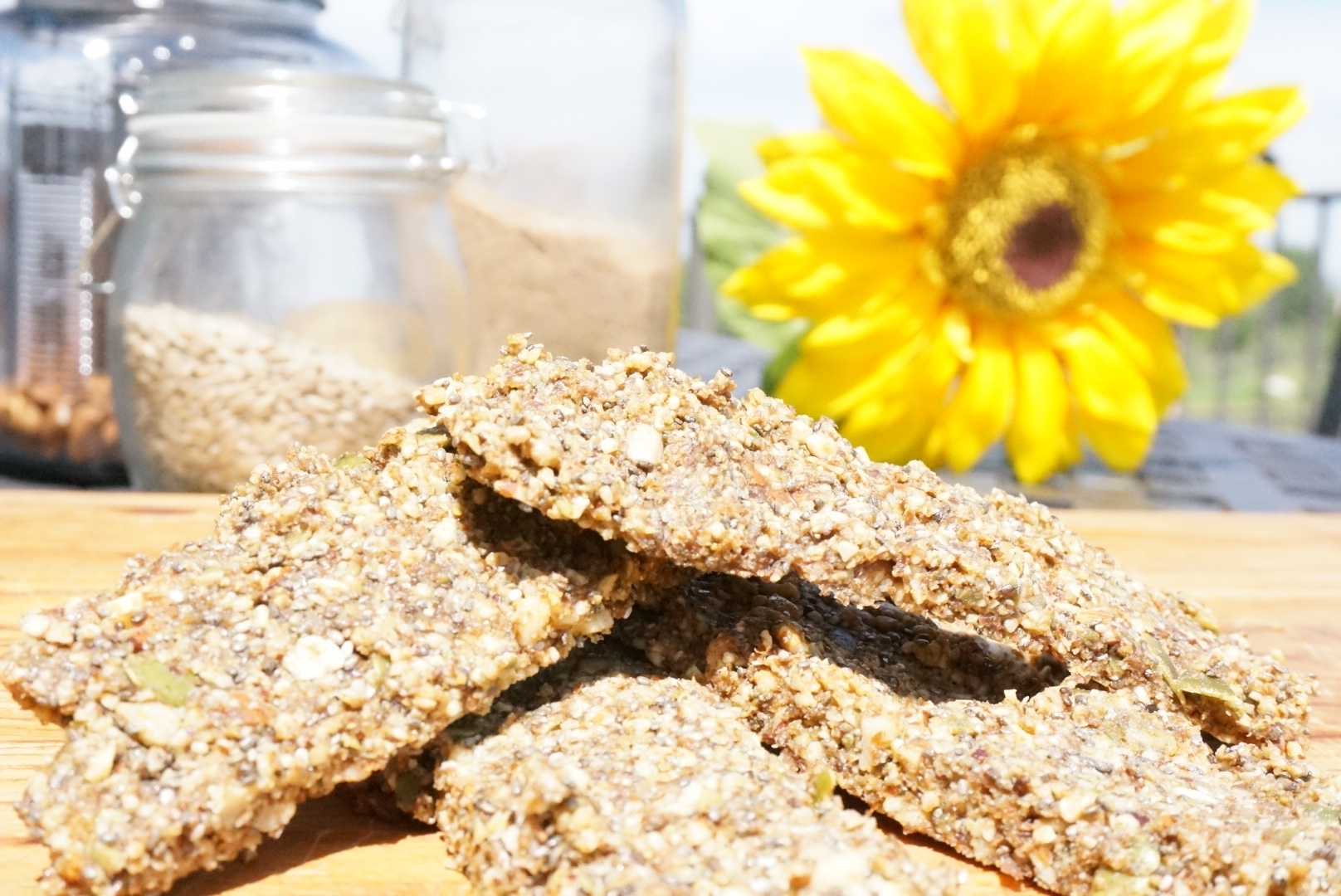 Nutritious low carb Breakfast Bar