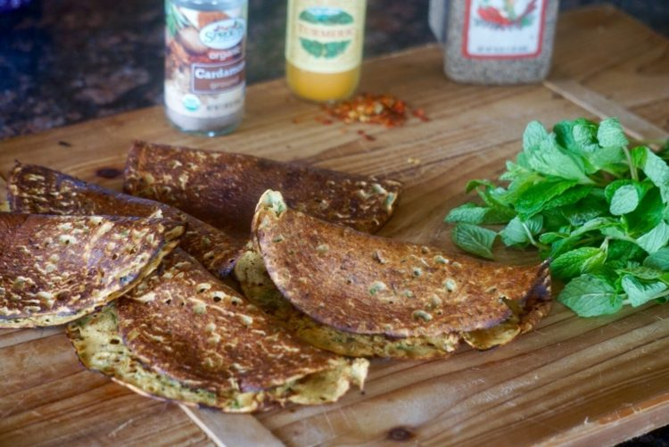 Indian Pancakes - Plant based whole food
