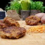Healthy Indian Potato and Lentil Cakes