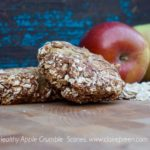 Healthy Apple Crumble Scones