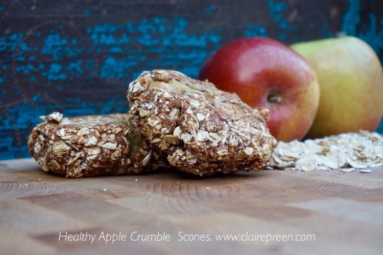Apple crumble pie - Plant based whole food