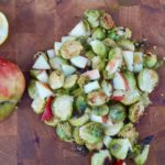 Healthy Apple & Ginger Sprouts