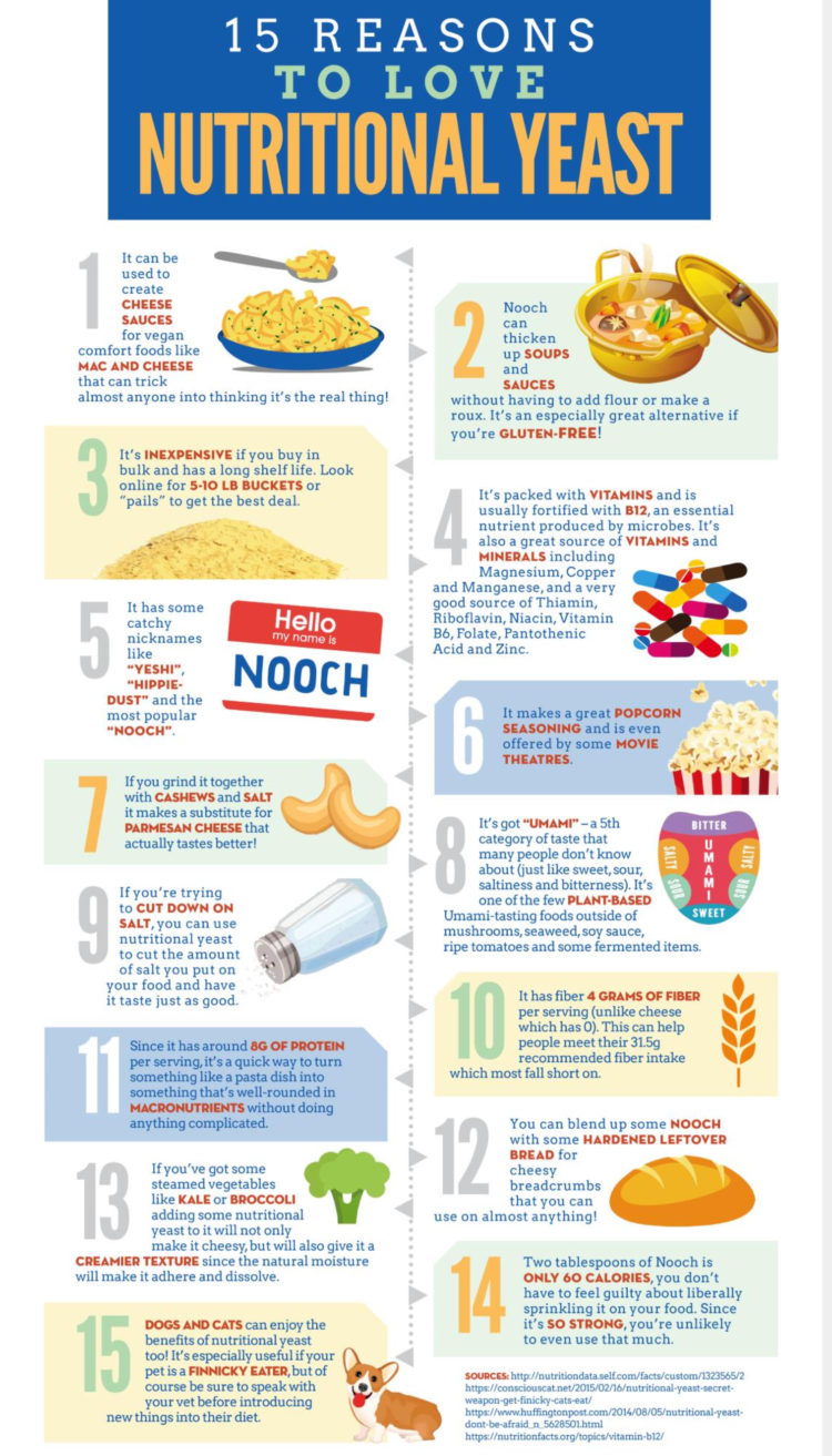 Benefits of nutritional yeast